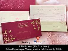 undangan pernikahan r501 unique card wedding invitation