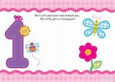 Cute Invitation Templates Free Printable First Birthday Invitations Free Printable