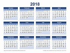 Vertex42 Calendar Download A Free Printable 2018 Yearly Calendar From