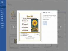 How To Prepare A Flyer How To Make A Business Flyer In Word