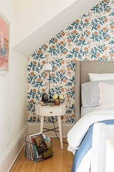 Flower Wallpaper In Bedroom by 31 Wallpaper Accent Walls That Are Worth Pinning Digsdigs