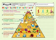 Healthy Chart French Unit 5 Food Year 5 Amp 6 Eating Healthy Health