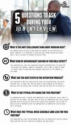 Questions To Ask In An Interviewee 5 Questions To Ask During Your Job Interview