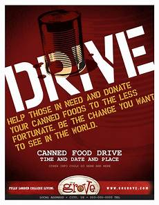 Can Food Drive Flyer Tg080079 Canned Food Drive Flyer