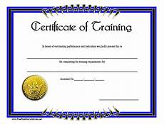 Certificate Of Training Template Free 15 Training Certificate Templates Free Download Designyep