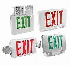 Location Exit Light Combo Exit Amp Emergency Lighting