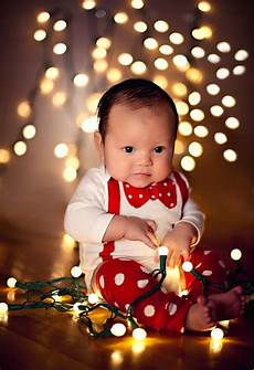Baby Wrapped In Christmas Lights Photo Christmas Photo Ideas 15 Christmas Photo Ideas For