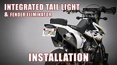 Suzuki Drz400sm Light New How To Install Integrated Light Amp Fender