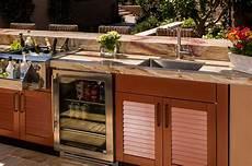 outdoor kitchen sink cabinet brown outdoor kitchens