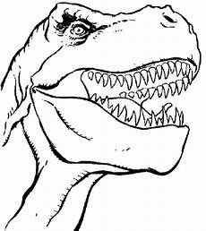 print dinosaur t rex coloring pages for