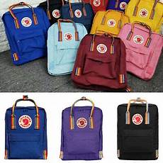 Fjallraven Backpack Size Chart Fjallraven Kanken Rainbow Backpack 7l Mini 16l Classic