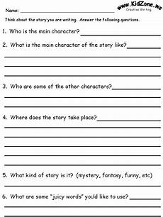 Creative Writing Story Questions