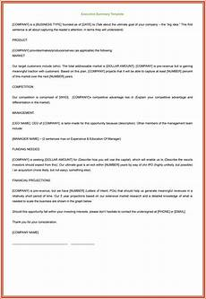 Executive Summary Word Template 3 Executive Summary Examples For Word And Pdf