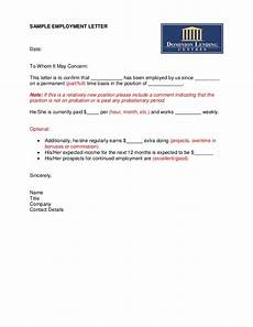 Departure Letter To Employer Sample Employment Letter