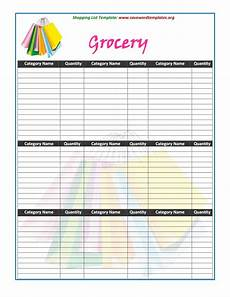 printable grocery list room surf com
