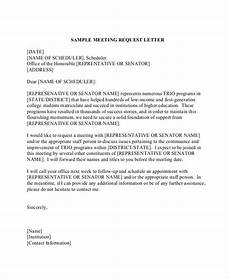 Sample Letter Requesting A Meeting Free 11 Sample Formal Request Letter Templates In Pdf