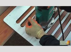 Routing Wooden Worktop Drainage Grooves (HD)   YouTube