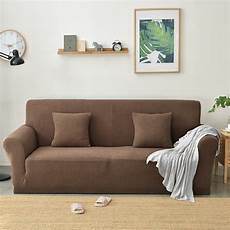 colorbird spandex fabric sofa slipcovers solid color