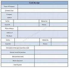 cash reciept form cash receipt form template for word