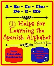 Alphabet In Spanish 3 Helps For Learning The Spanish Alphabet Startsateight