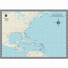 Hurricane Camille Tracking Chart Hurricane Tracking Chart The Map Shop