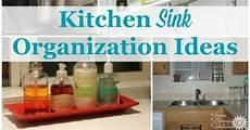 kitchen sink organizing ideas kitchen sink organization ideas storage solutions
