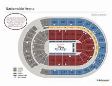 Nationwide Blue Jackets Seating Chart Seating Charts Nationwide Arena