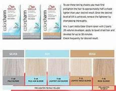 Wella Toner Chart Pin On Hair