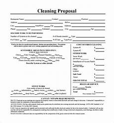 Cleaning Business Proposal Sample Free 19 Cleaning Proposal Samples In Pdf Ms Word