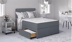 3 4 bed with mattress in 2020 grey divan bed divan bed