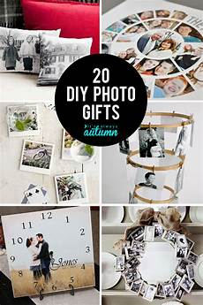 diy geschenke 20 fantastic diy photo gifts for s day or