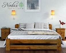 solid pine 6ft king size bed frame slats brand new