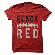 Football T Shirt Designs Quot Black And Red Football Quot Classic Guys Unisex Tee
