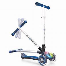 Scooter With Lights Globber 3 Wheel Folding Scooter With Led Lights Ebay