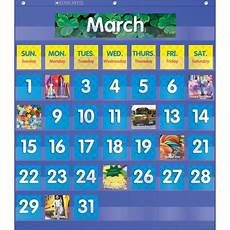 Scholastic Calendar Pocket Chart Teachersparadise Com Monthly Calendar Pocket Chart Gr K 5