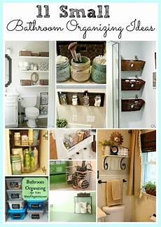 bathroom organization ideas for small bathrooms 11 fantastic small bathroom organizing ideas