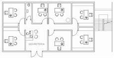 planimetria uffici schemi ufficio 2d