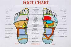 Foot Chart Reflexology Charts Kerry School Of Reflexology