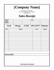 Reciept Templet 12 Free Sales Receipt Templates Word Excel Pdf