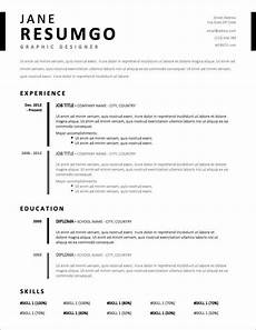 Blank Resume Template Word 17 Free Resume Templates For 2020 To Download Now