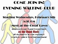 Walking Flyer Walking Club Flyer The Link News