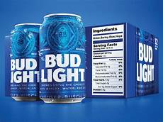 Calories In Bud Light Peach A Bud Light Adds Ingredients And Serving Facts To Its