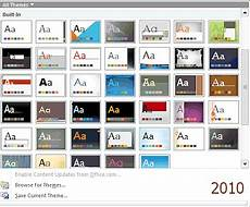 Download Powerpoint Themes 2010 Templates Amp Themes Format Jan S Working With Presentations