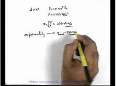 17. Class 11th Physics   Waves Motion   Newton's Formula