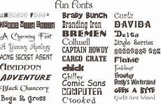 Fun Fonts Simply Beautiful Fun Fonts