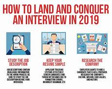 Advice For Interviews How To Land And Conquer An Interview
