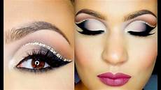 tutorial paso a paso cut crease doble glitter