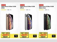 JB Hi Fi slashes the price of the iPhone XS Max 512GB