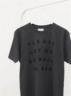 back to bed t shirts apparel shop alphabet bags