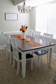 gorgeous chalk paint dining table makeover diy kindly